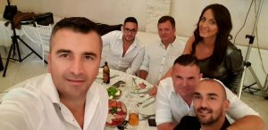 "Krštenje male Eme, restoran ""Hollywood"", Beograd"