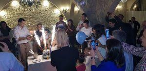 """Lazarev prvi rođendan, motel """"Vila Konak"""", Beograd"""